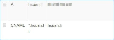 SSL Wildcard 通配證書的 DNS