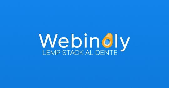 Webinoly LNMP