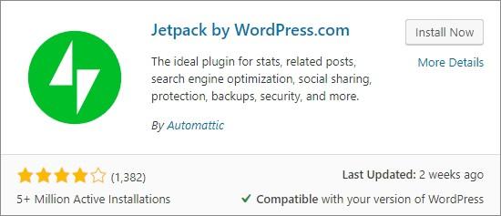 Jetpack Plugin Setup