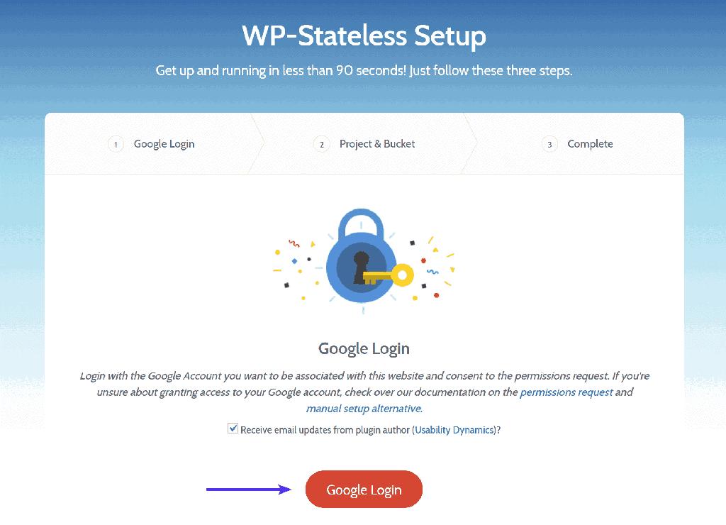 WP-Stateless 設定