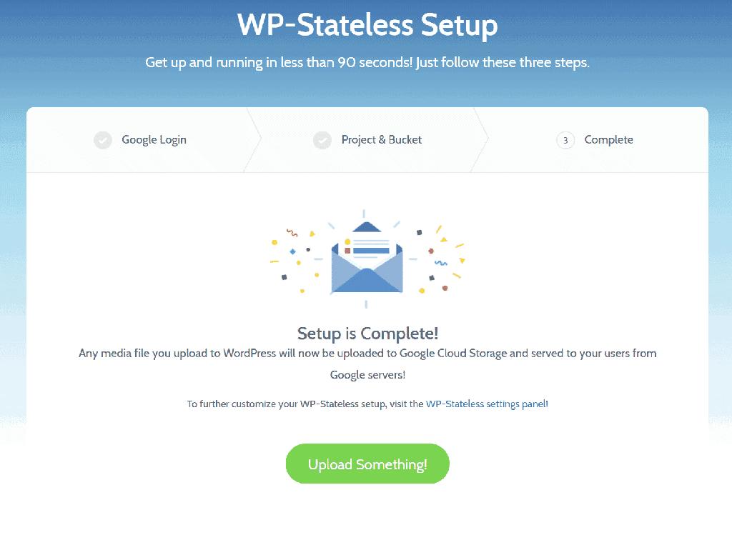 WP-Stateless 設定完成