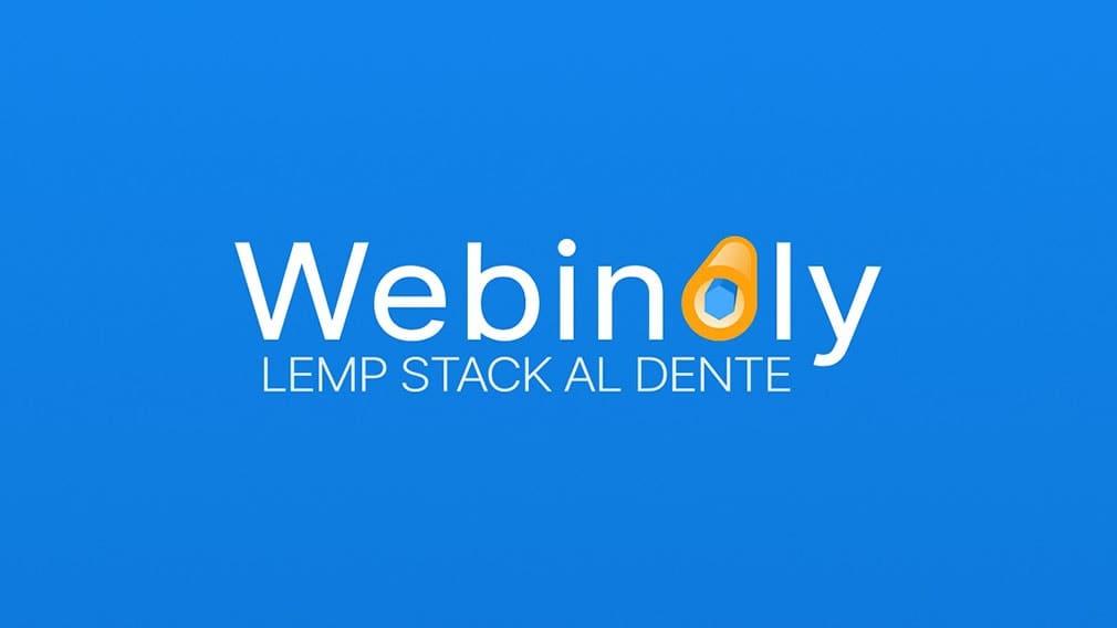 Webinoly LEMP